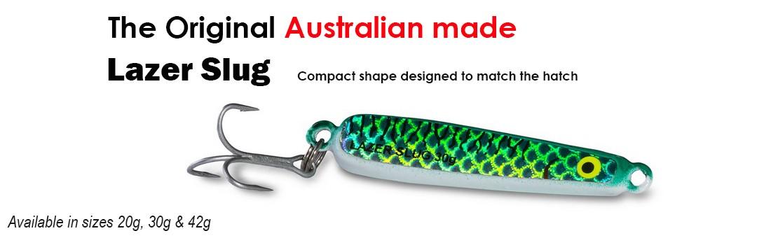 Lazer Slug - Compact Shape To Match The Hatch